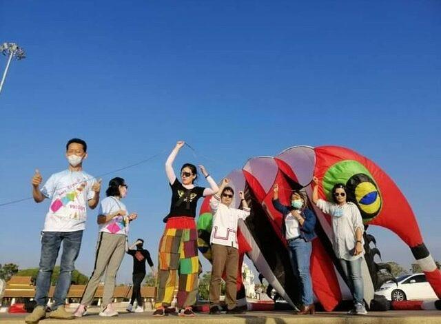 สุดว้าว! จ.พะเยา จัดเทศกาลว่าวแฟนซีกลางน้ำ ครั้งแรกของไทย ณ ลานอเนกประสงค์ กว๊านพะเยา วันที่ 11-13 ธันวาคม 63